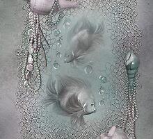 Fantasy Ocean 1 by Carol  Cavalaris