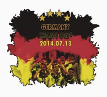 Germany Team Four Stars WorldCup 2014 by ilmagatPSCS2