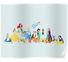 princesses and company Poster