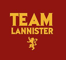 Game of Thrones - Team Lannister. by Wiggamortis