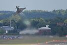 Typhoon Take Off - Farnborough 2014 by Colin J Williams Photography