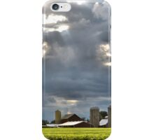 Blanketing the Farm iPhone Case/Skin