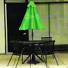 Green Umbrella by Emma Whitehorn