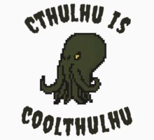 Cthulhu Is Coolthulhu by fleebinator
