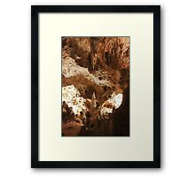Carlsbad Caverns Study 19 Framed Print