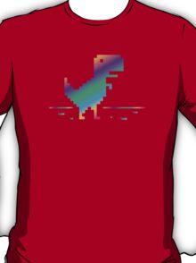 My Offline rainbow Dinosaur T-Shirt
