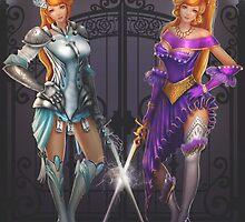 Twin Musketeers by samerasart