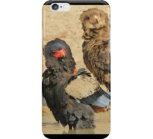 Bateleur Eagle - African Wildlife - Animal Parents iPhone Case/Skin