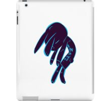 Sad Bun (Blue ver.) iPad Case/Skin