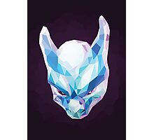Mewtwo Polygonal Photographic Print