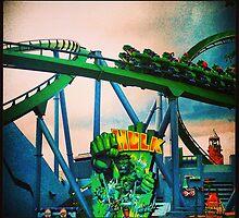 Hulk Coaster by southernmissfan