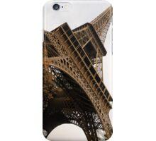An Elegant French Iron Lady - La Dame de Fer, Paris iPhone Case/Skin