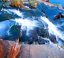 Fortescue Falls, Karijini, Western Australia by Nicola Morgan