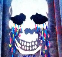 Skul Graffiti Sticker
