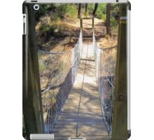 Rope Bridge Sierra Espuna, Spain iPad Case/Skin