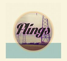 Flings album artwork Phone Case by RyanBibisi
