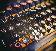 Typewriter by novopics