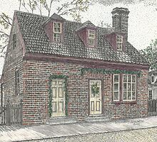 Stith House at Colonial Williamsburg by Stephany Elsworth
