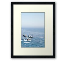Big Sur Ocean  Framed Print