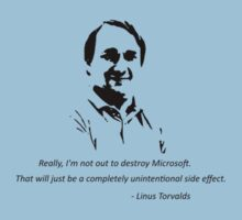 Linux - Linus Torvalds Kids Clothes