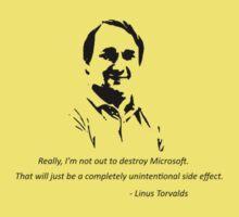 Linux - Linus Torvalds Kids Clothes