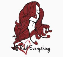 Eva Marie - All Red Everything Variant Kids Clothes