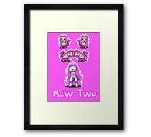 Mew-Two Framed Print