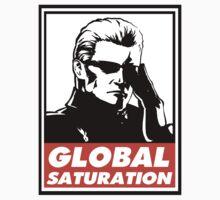 Wesker Global Saturation Obey Design T-Shirt