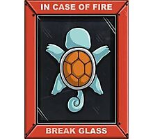 In Case of a Fire Photographic Print