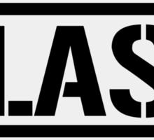 Las Vegas airport destination stamp Sticker