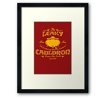 The Leaky Cauldron Bar & Inn Framed Print