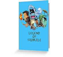 Legend of Squirtle Greeting Card