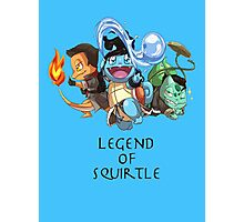 Legend of Squirtle Photographic Print