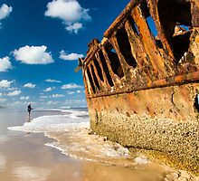 Fishing for Wrecks - SS Maheno by MichaelJP