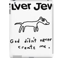 SILVER JEWS AMERICAN WATER  iPad Case/Skin