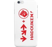Hadouken! iPhone Case/Skin