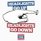 Headlights go UP, Headlights go DOWN! by RegularCars