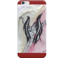 The Devil  Shoots Flaming Arrows iPhone Case/Skin