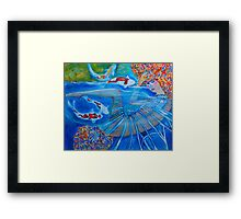 With Every Breath Framed Print