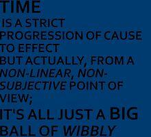 Wibbly Wobbly, Timey-Wimey....Stuff by bassgirl27