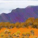 IPad Art - Across the Sand hills by Georgie Sharp