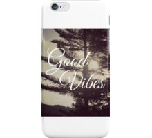 GoodVibes iPhone Case/Skin