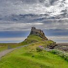 Lindisfarne Castle by Trevor Kersley