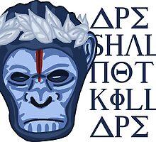 Caeser, Emporer of the apes by DangerousBear