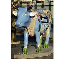 Cow Parade - Shirt Factory Horn, Derry Photographic Print