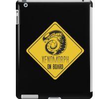 Xenomorph On Board iPad Case/Skin