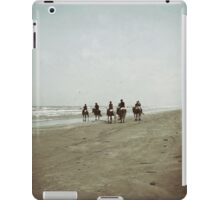 Riding with the Tide iPad Case/Skin