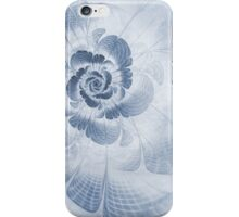 Floral Impression Cyanotype iPhone Case/Skin