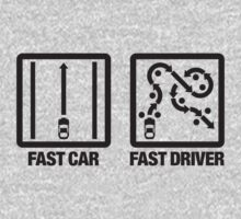 Fast Car - Fast Driver (2) by PlanDesigner
