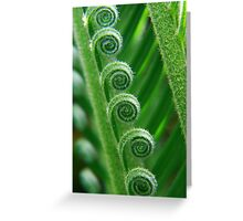 Fresh growth Greeting Card